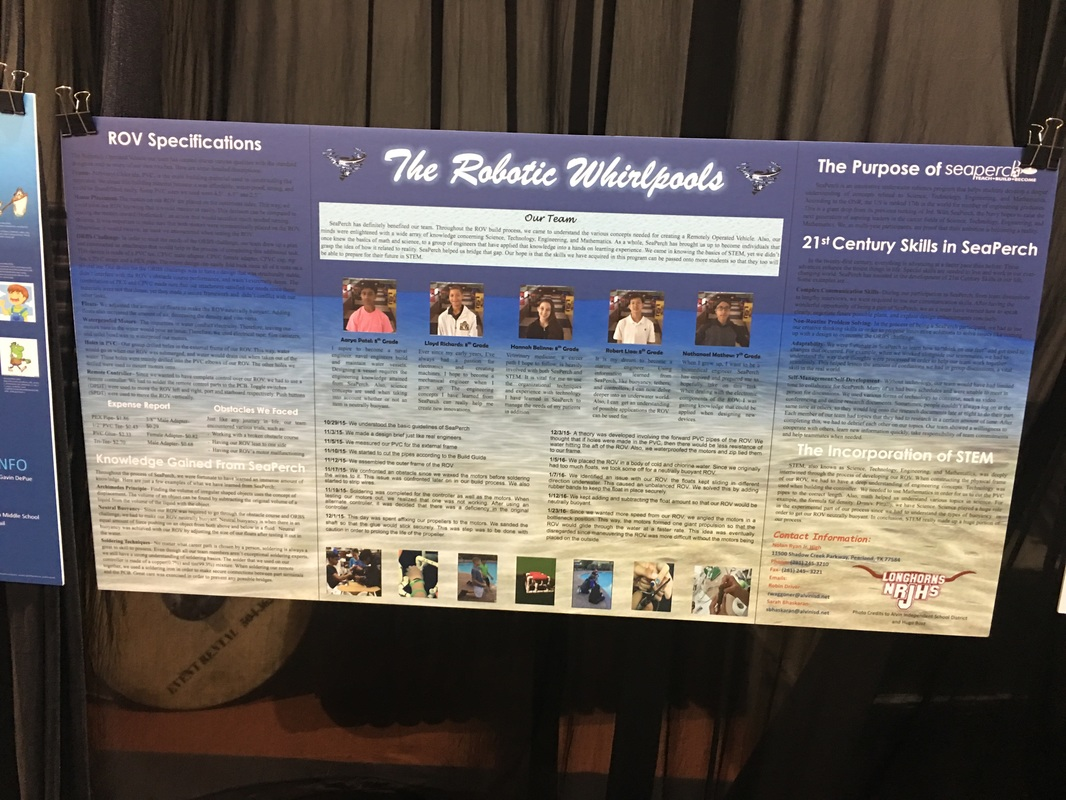 poster board examples alvin seaperch